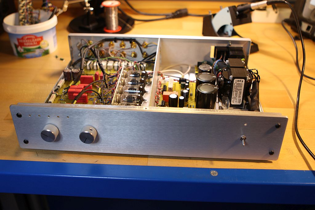 5 Stage preamp